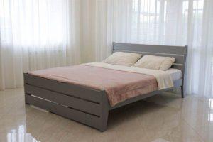 Сучасне двоспальне дерев'яне ліжко лофт Глорія Дрімка
