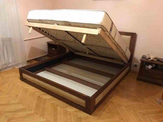 Двоспальне ліжко нішою Амелія
