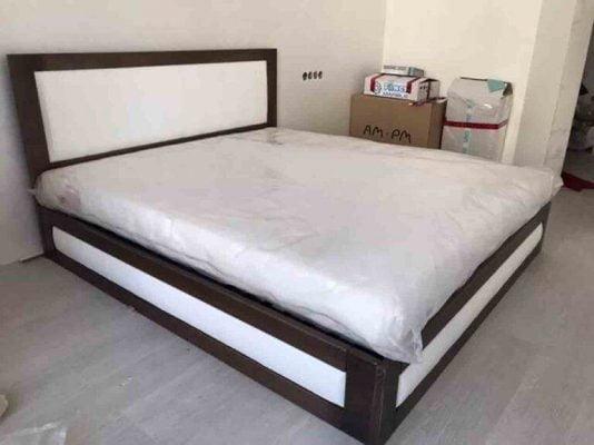 Двоспальне ліжко з тканиною Амелія купити
