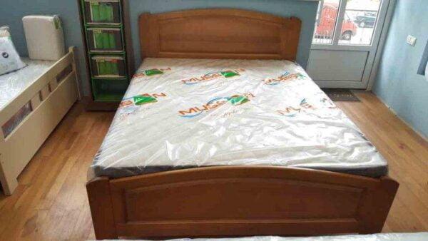 Дерев'яне двоспальне ліжко Едель купити