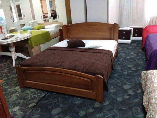 Дерев'яне двоспальне ліжко Едель відгуки