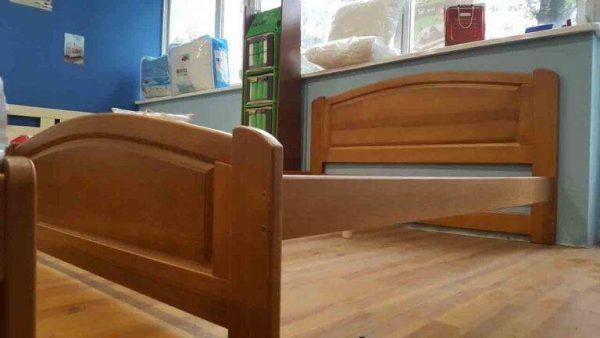 Дерев'яне двоспальне ліжко Едель замовити