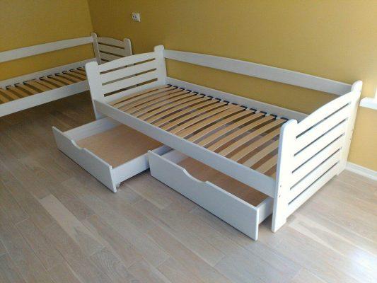 Підліткове ліжко Карлсон з шухлядами