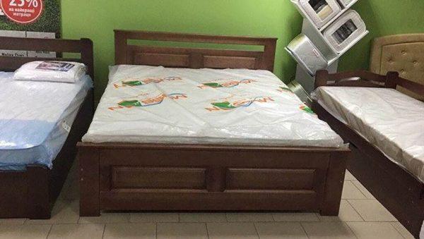 Двоспальне ліжко Клеопатра дерево