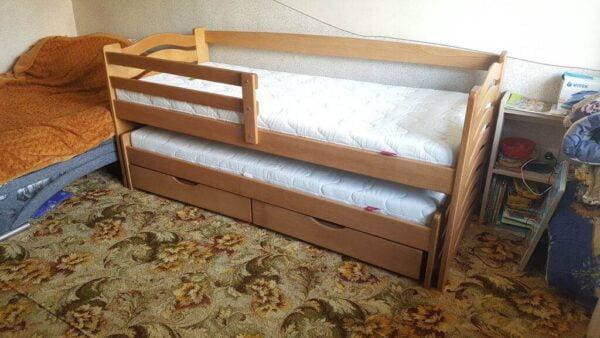 Компактне ліжко для двох дітей Мальва фабрика