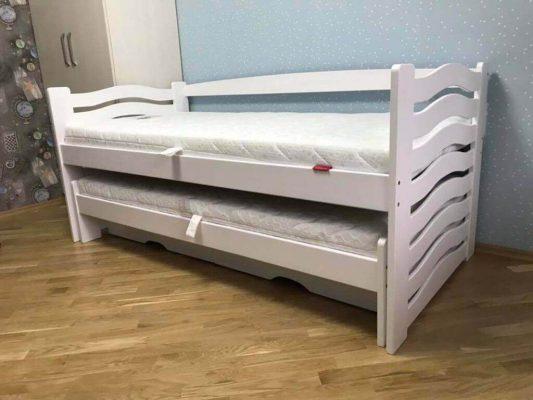 Ліжко з виїзним спальним місцем Мальва фото