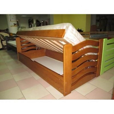 Ліжко для дітей Міккі Маус з підйомним механізмом фото