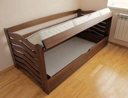 Ліжко для дітей Міккі Маус з підйомним механізмом купити