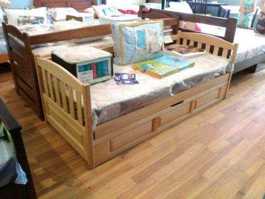 Дитяче односпальне ліжко Немо з механізмом Дрімка