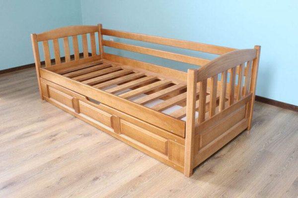 Дитяче односпальне ліжко Немо з механізмом купити