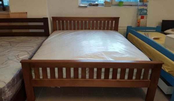 Дерев'яне двоспальне ліжко Жасмін