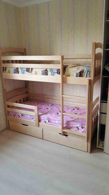 Двоповерхове ліжко Бембі живі фото