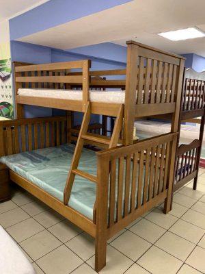 Сімейне двоповерхове ліжко Орхідея фото
