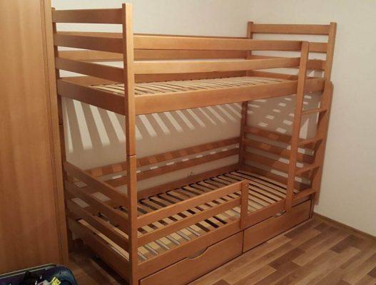 Двухэтажная кровать Шрек купить