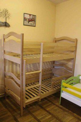 Двоповерхове ліжко Вінні Пух