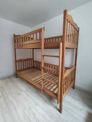 Двоярусне дитяче ліжко Рукавичка 101 колір